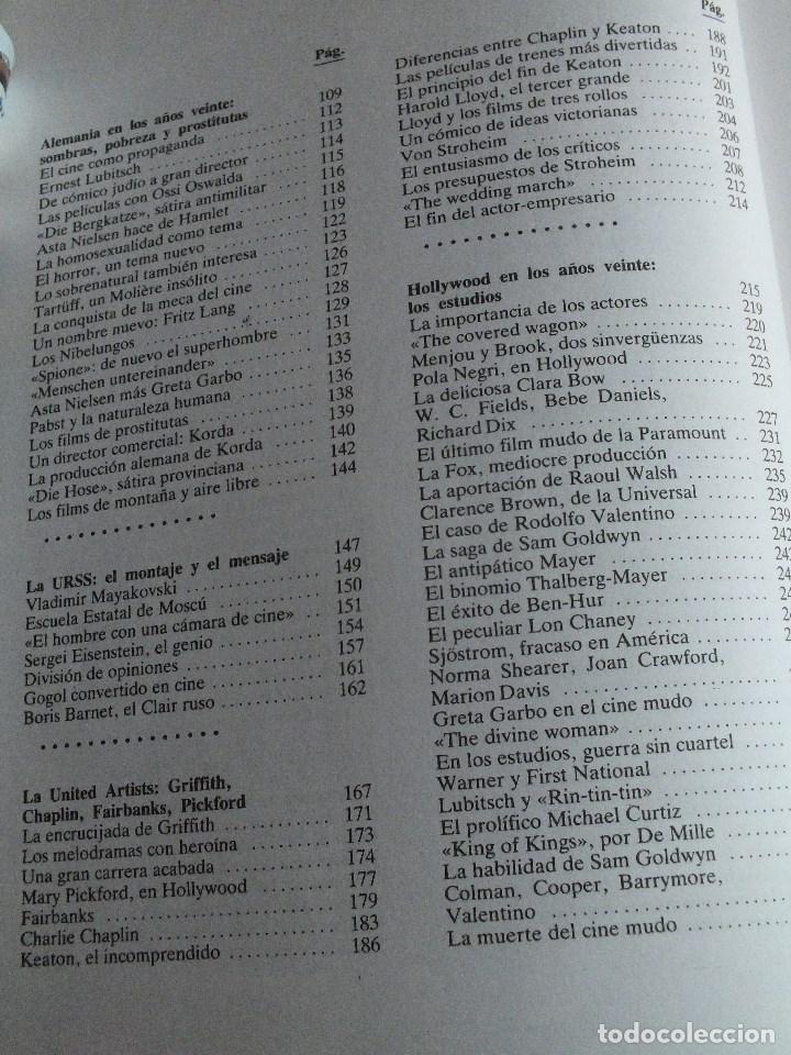 Libros de segunda mano: CINE HISTORIA DE CINE VOLUMEN I LOS COMIENZOS PELÍCULAS CINE MUDO COMIENZO CINE SONORO - Foto 4 - 67136221