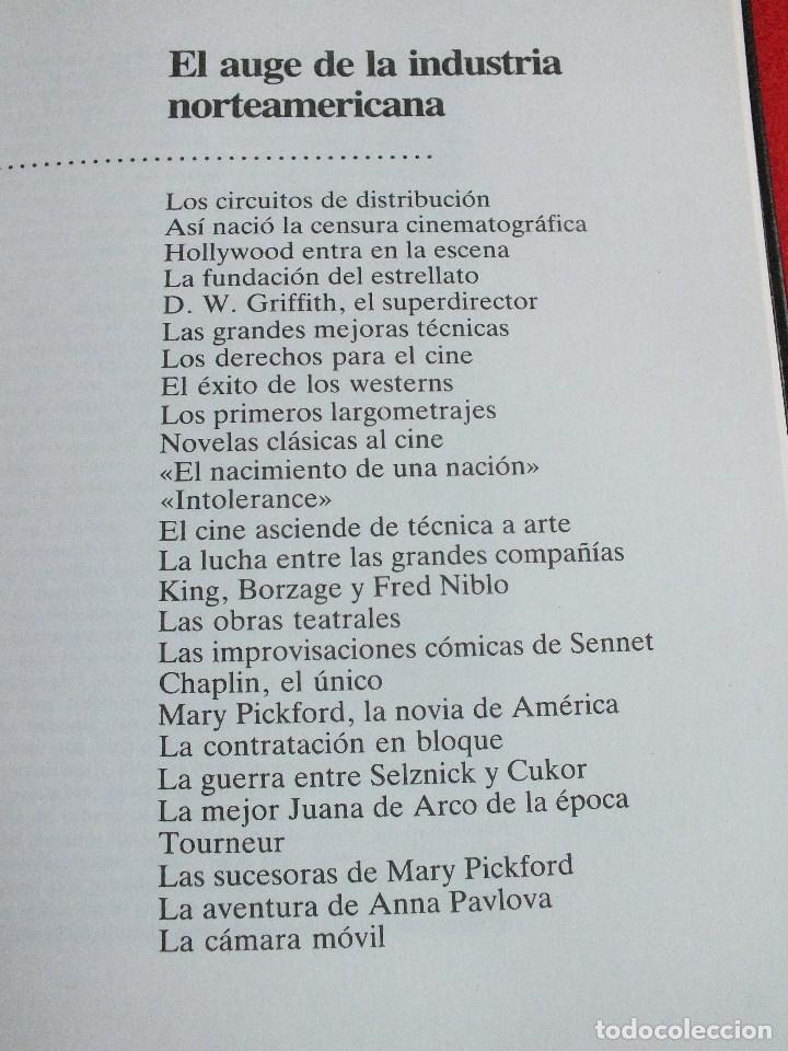 Libros de segunda mano: CINE HISTORIA DE CINE VOLUMEN I LOS COMIENZOS PELÍCULAS CINE MUDO COMIENZO CINE SONORO - Foto 6 - 67136221