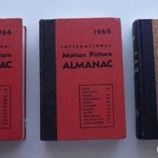 Libros de segunda mano: MOTION PICTURE ALMANAC, 1964, 1965 Y 1966, TRES TOMOS. Lote 68118069