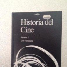 Libros de segunda mano: HISTORIA DEL CINE VOLUMEN I LOS COMIENZOS. Lote 68734533