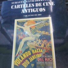 Libros de segunda mano - SUBASTA ESTRAORDINARIA CARTELES DE CINE ANTIGUOS 7 DE JUNIO DE 2001 - 71802155