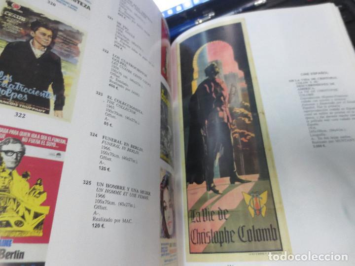 Libros de segunda mano: SUBASTA ESTRAORDINARIA CARTELES DE CINE ANTIGUOS 7 DE JUNIO DE 2001 - Foto 2 - 71802155
