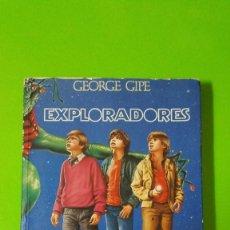 Libros de segunda mano: EXPLORADORES EDITA PLAZA Y JANÉS EL LIBRO DE LA MÍTICA PELÍCULA DE LOS AÑOS 80 PARAMOUNT PICTURE. Lote 71860167