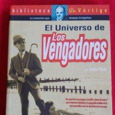 Libros de segunda mano: EL UNIVERSO DE LOS VENGADORES - XAVIER PEREZ -COMPLETO LIBRO SOBRE LA SERIE - POP MOD 60'S. Lote 71927823