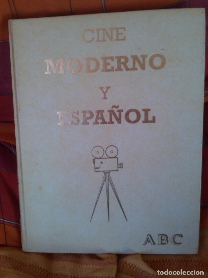 LA GRAN HISTORIA DEL CINE (2 TOMOS) + CINE MODERNO ESPAÑOL (1 TOMO) (Libros de Segunda Mano - Bellas artes, ocio y coleccionismo - Cine)