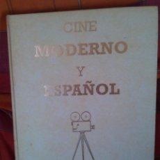 Libros de segunda mano: LA GRAN HISTORIA DEL CINE (2 TOMOS) + CINE MODERNO ESPAÑOL (1 TOMO). Lote 71946123