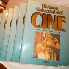 Libros de segunda mano: HISTORIA UNIVERSAL DEL CINE PLANETA 10 TOMOS. Lote 72352951