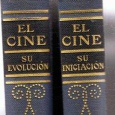 Libros de segunda mano: EL CINE HISTORIA ILUSTRADA DEL SÉPTIMO ARTE ( TOMOS 1 Y 2). Lote 73794419
