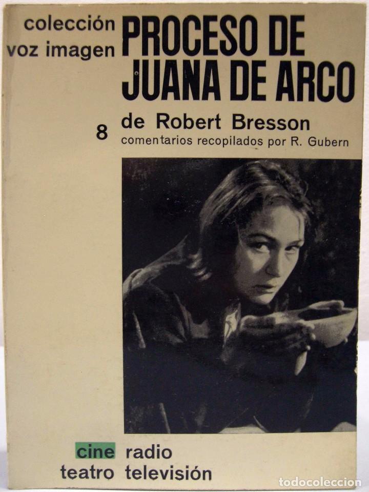 ROBERT BRESSON - PROCESO DE JUANA DE ARCO. AYMÁ, 1964. (Libros de Segunda Mano - Bellas artes, ocio y coleccionismo - Cine)