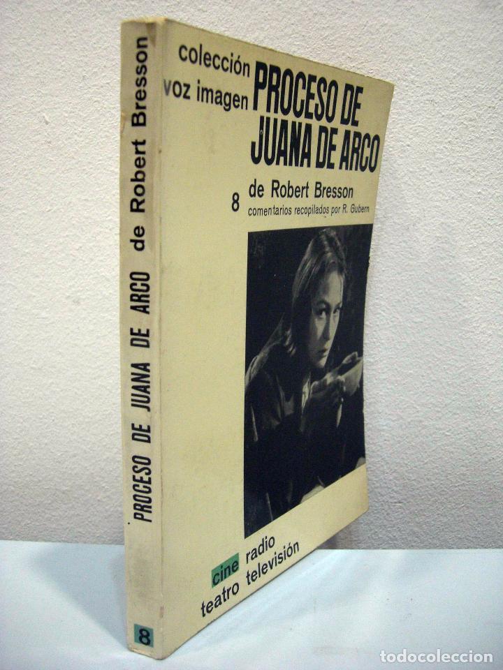 Libros de segunda mano: ROBERT BRESSON - PROCESO DE JUANA DE ARCO. AYMÁ, 1964. - Foto 2 - 74186975