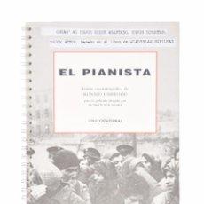 Libros de segunda mano: EL PIANISTA (GUION CINEMATOGRÁFICO) - HARDWOOD, RONALD. Lote 74390549