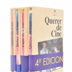Libros de segunda mano: MORIR DE CINE / BEBER DE CINE / LATIR DE CINE / QUERER DE CINE - GARCI, JOSÉ LUIS. Lote 150737364