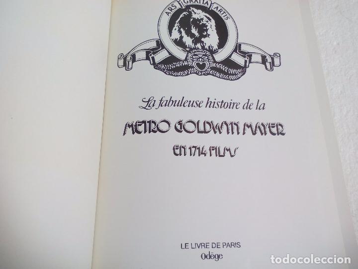 Libros de segunda mano: La Fabuleuse Histoire de la Metro Goldwyn Mayer en 1714 films. 1977.Libro en francés de cine años 30 - Foto 2 - 76747859