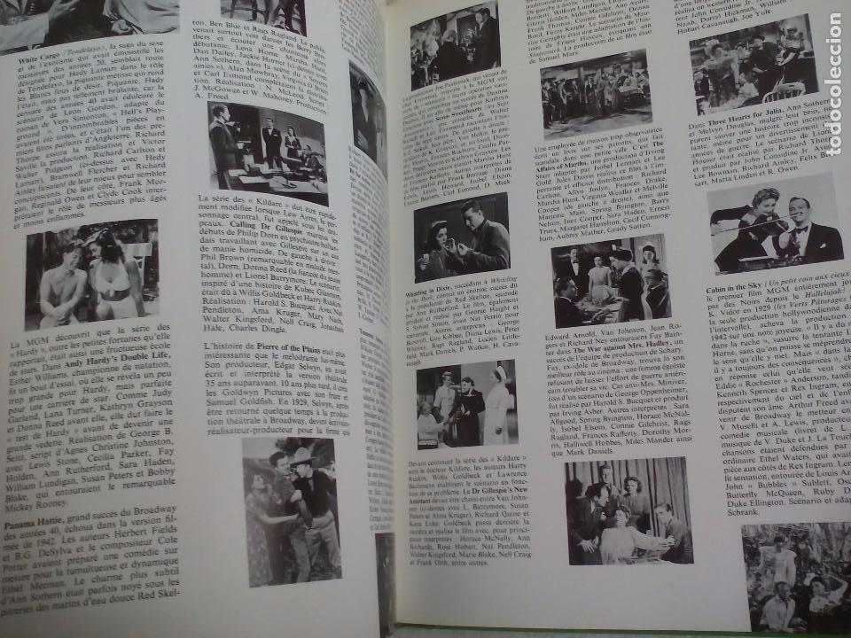 Libros de segunda mano: La Fabuleuse Histoire de la Metro Goldwyn Mayer en 1714 films. 1977.Libro en francés de cine años 30 - Foto 9 - 76747859