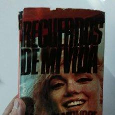 Libros de segunda mano: LIBRO MARILYN MONROE.RECUERDOS DE MI HISTORIA@@@. Lote 76760263