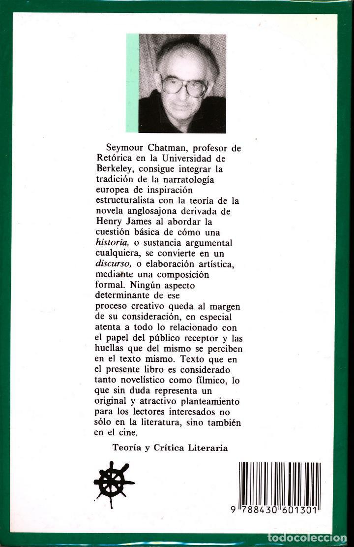 Seymour Chatman Historia Y Discurso La Estruc Sold