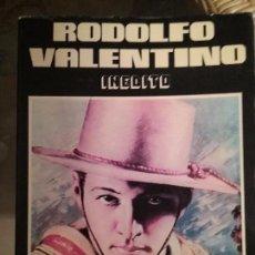 Libros de segunda mano: RODOLFO VALENTINO. INEDITO. EL AMANTE DE HOLLYWOOD.. Lote 77827213