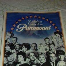 Libros de segunda mano: LA FABULEUSE HISTOIRE DE LA PARAMOUNT : L'HISTOIRE DU STUDIO ET DE 2805 FILMS BROCHÉ – 1985,FRANCES. Lote 78284009