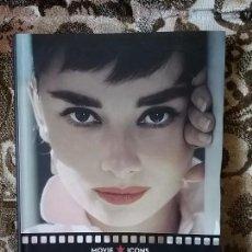 Libros de segunda mano: AUDREY HEPBURN. MOVIE ICONS, TASCHEN. MUCHAS FOTOS EN INGLÉS.. Lote 79887009