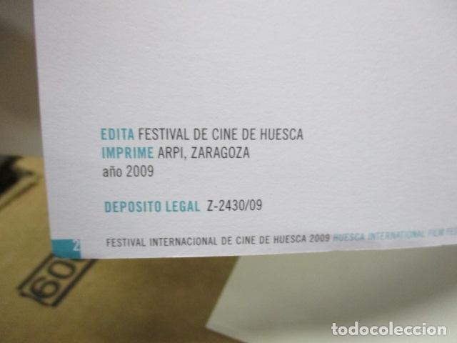 Libros de segunda mano: 37 FESTIVAL INTERNACIONAL DE CINE DE HUESCA - Foto 3 - 80902347