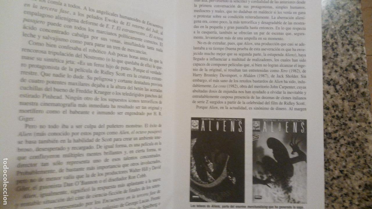 Libros de segunda mano: ALLIEN (Terror en el espacio) por Jorge Riera - CULT MOVIES - MIDONS EDITORIAL - 1997 - RARO! - Foto 2 - 81047864