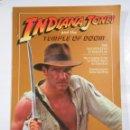 Libros de segunda mano: INDIANA JONES AND THE TEMPLE DOOM. TDK12. Lote 81076456