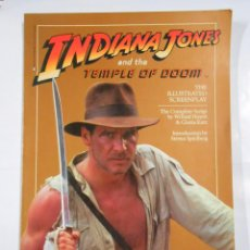 Libros de segunda mano: INDIANA JONES AND THE TEMPLE DOOM. TDK12. Lote 81076456