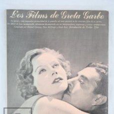 Libros de segunda mano: LIBRO DE TAPA BLANDA - LOS FILMS DE GRETA GARBO - AYMÁ, 1979. Lote 81895824