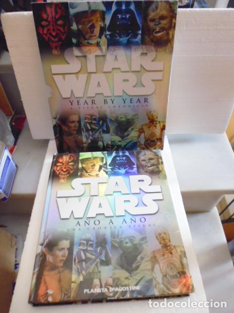STAR WARS AÑO A AÑO-CRONICA VISUAL-PLANETA DE AGOSTINI -300PAG -2014 (Libros de Segunda Mano - Bellas artes, ocio y coleccionismo - Cine)