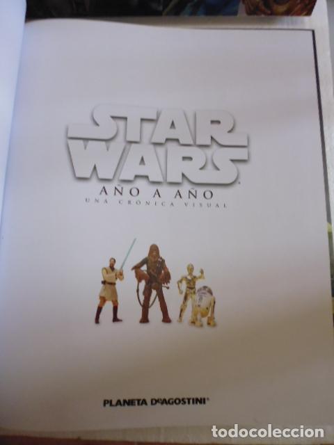 Libros de segunda mano: STAR WARS AÑO A AÑO-CRONICA VISUAL-PLANETA DE AGOSTINI -300PAG -2014 - Foto 2 - 81924072