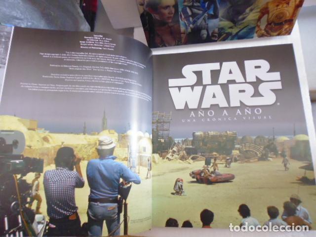 Libros de segunda mano: STAR WARS AÑO A AÑO-CRONICA VISUAL-PLANETA DE AGOSTINI -300PAG -2014 - Foto 3 - 81924072