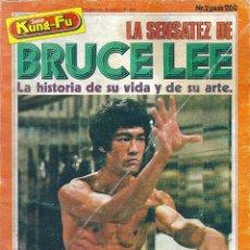 Libros de segunda mano: LIBRO SUPER KUNG-FU Nº 2. LA SENSATEZ DE BRUCE LEE. ARTES MARCIALES. EL PEQUEÑO DRAGON. AÑOS 70. Lote 83948092