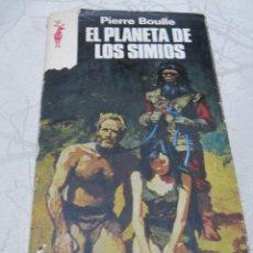 Libros de segunda mano: LIBRO EL PLANETA DE LOS SIMIOS PIERRE BOULLE. Lote 84560648
