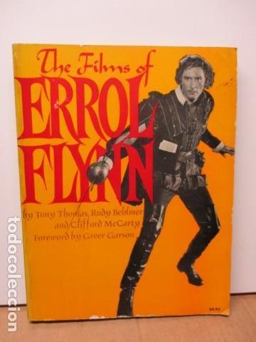 THE FILMS OF ERROL FLYNN (EN INGLES) - DIFICIL (Libros de Segunda Mano - Bellas artes, ocio y coleccionismo - Cine)