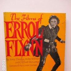 Libros de segunda mano: THE FILMS OF ERROL FLYNN (EN INGLES) - DIFICIL. Lote 84667252