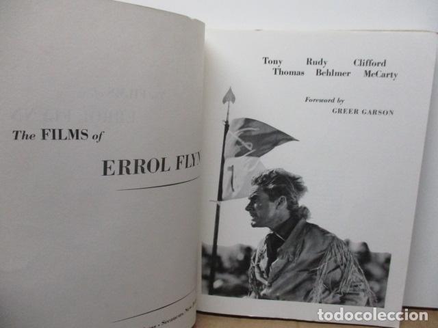 Libros de segunda mano: The Films of Errol Flynn (en Ingles) - DIFICIL - Foto 8 - 84667252