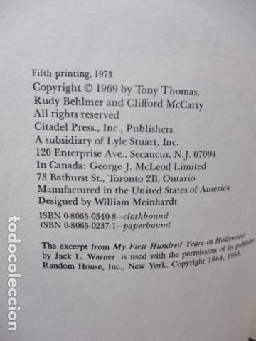 Libros de segunda mano: The Films of Errol Flynn (en Ingles) - DIFICIL - Foto 9 - 84667252
