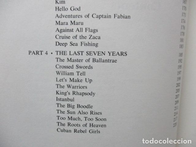 Libros de segunda mano: The Films of Errol Flynn (en Ingles) - DIFICIL - Foto 12 - 84667252