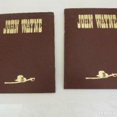 Libros de segunda mano: CINE ENCICLOPEDIA JOHN WAYNE DOS TOMOS PLANETA DE AGOSTINI. Lote 85884584