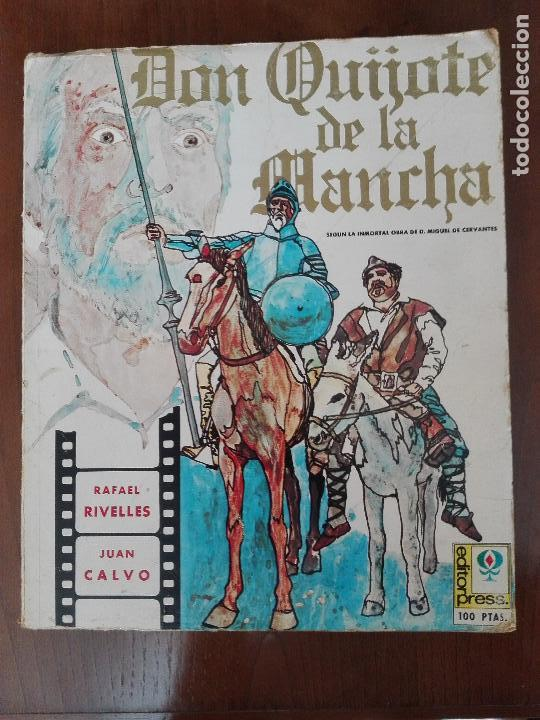 DON QUIJOTE DE LA MANCHA - FOTONOVELA DE LA PELICULA DE RAFAEL RIVELLES Y JUAN CALVO (Libros de Segunda Mano - Bellas artes, ocio y coleccionismo - Cine)