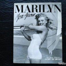 Libros de segunda mano: MARILYN MONROE - MON AMOUR - DE DIENES. Lote 88826096