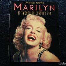Libros de segunda mano: MARILYN MONROE AT TWENTIETH CENTURY FOX. Lote 88826188