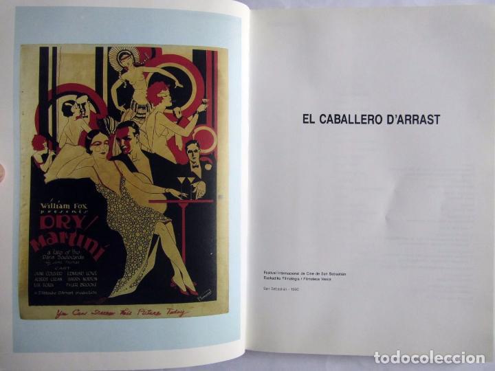 Libros de segunda mano: Caballero D´Arrast. Jose Luis Boreau. Filmoteca vasca y Festival Intern. Cine de San Sebastián 1990 - Foto 3 - 88847892