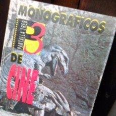 Libros de segunda mano: MONOGRÁFICOS PANTALLA TRES Nº 1 - DINOSAURIOS (PANTALLA 3, 1993). Lote 89108408