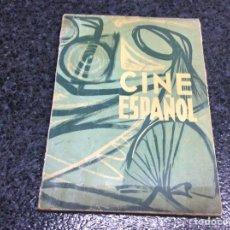 Libros de segunda mano: CINE ESPAÑOL, UNIESPAÑA /CATÁLOGO DE PELÍCULAS EN ESPAÑA 1961 (EDICION BILINGUE - ITALIANO ALEMAN). Lote 87346799