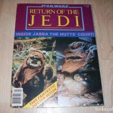 Libros de segunda mano: STAR WARS. RETURN OF THE JEDI. REVISTA CON POSTER GRANDE. OFFICIAL POSTER MONTHLY #2. 1983.. Lote 89676368