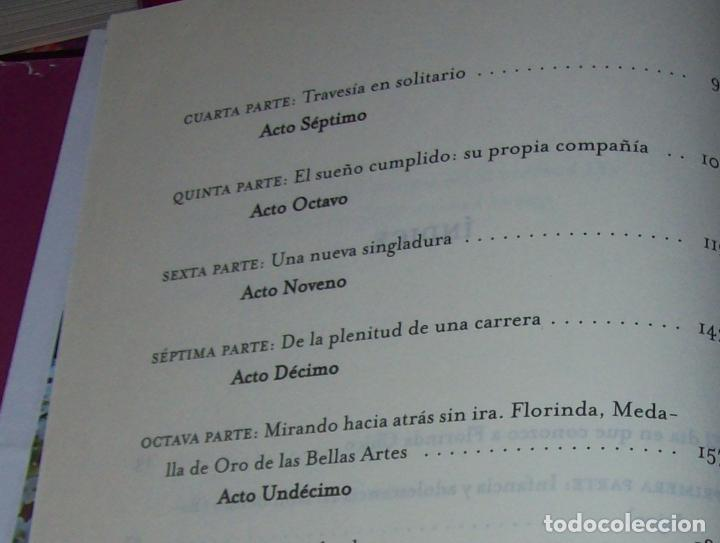 Libros de segunda mano: FLORINDA CHICO. EN EL GRAN TEATRO DEL MUNDO. JUAN ANTONIO PÉREZ. ED. MARTÍNEZ ROCA. 1ª EDICIÓN 2003. - Foto 6 - 89727372