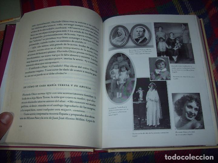 Libros de segunda mano: FLORINDA CHICO. EN EL GRAN TEATRO DEL MUNDO. JUAN ANTONIO PÉREZ. ED. MARTÍNEZ ROCA. 1ª EDICIÓN 2003. - Foto 8 - 89727372