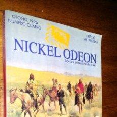 Libros de segunda mano: NICKEL ODEON / REVISTA TRIMESTRAL DE CINE / 4 / OTOÑO 1996 / EL WESTERN. Lote 89763676