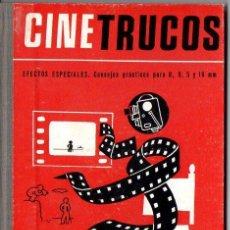 Libros de segunda mano: CINE TRUCOS - CINELIBRO OMEGA. Lote 89800252